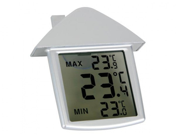 Thermometer, LCD Transparent Window w/ Min/Max - The Science Shop - 1