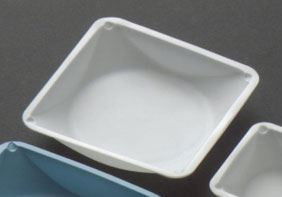 "5-1/2"" x 5-1/2"" Polystyrene Weight Boats 100/pk  (anti-static) - The Science Shop"
