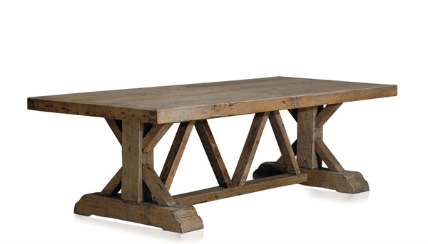 Large Rustic Farmhouse Wooden Table