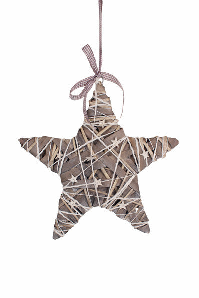 Grey Willow and Wood Star