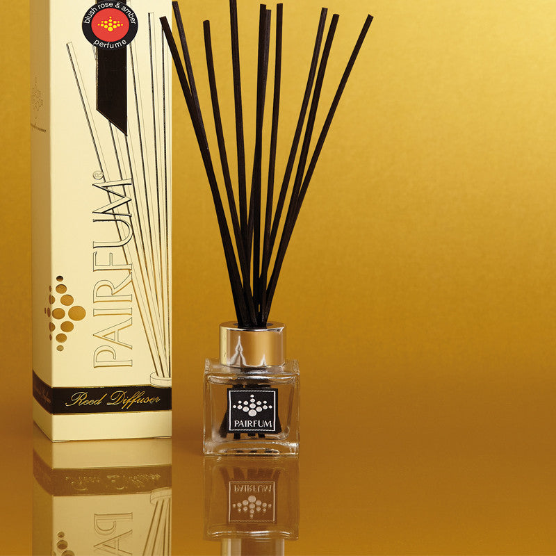 Reed Diffuser Cube | Blush Rose and Amber