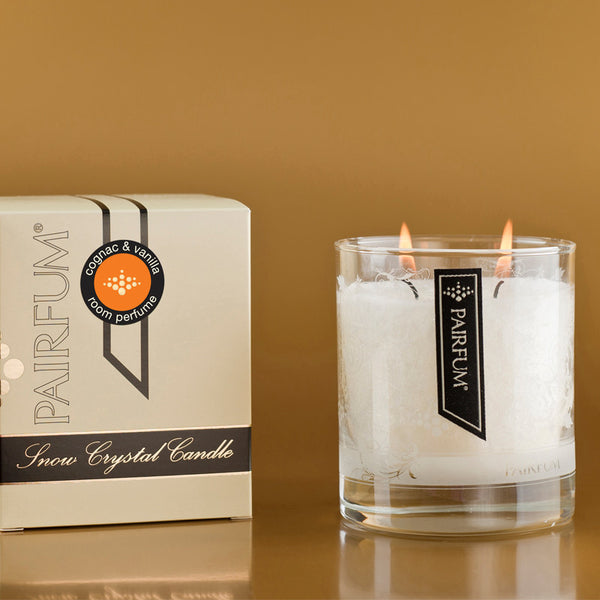 Snow Crystal Candle | Cognac and Vanilla