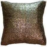 Feather padded designer cushion - Floral Sparkle 1