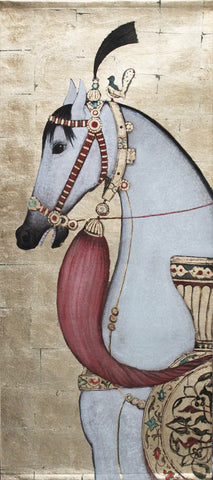 Bedouin Decorated Horse Wall Hanging