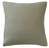 Feather Padded Luxury Cushion - Lichen Linen 1