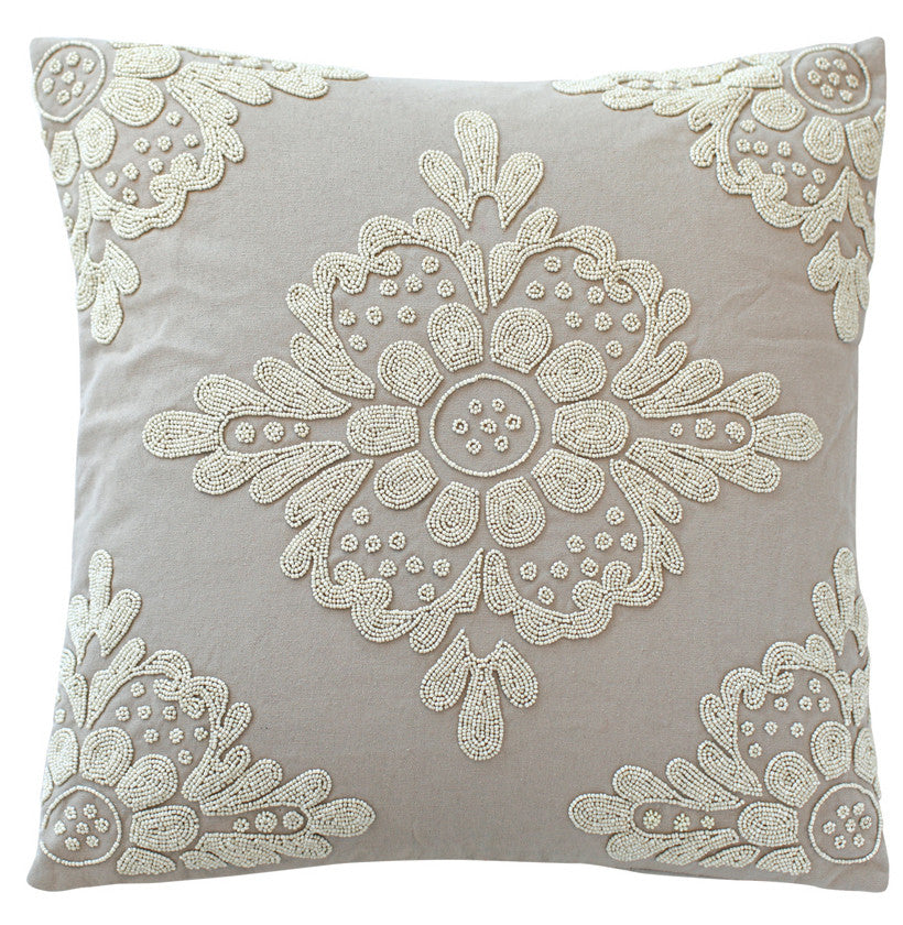 Luxury Feather Padded Cushions - Loretta Beads 1