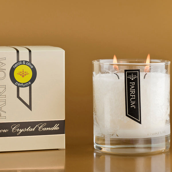Snow Crystal Candle | Neroli & Olive
