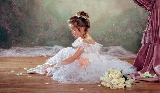 Peaceful Ballerina