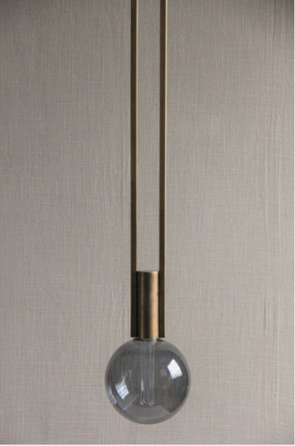 London Brass Pendant Light