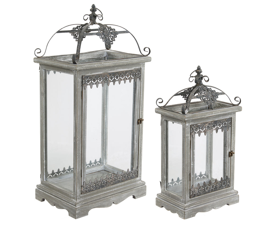 Set of Two Lanterns