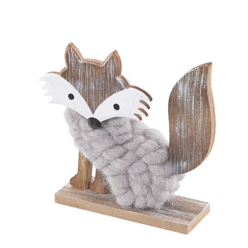 Wooden Woolly Fox