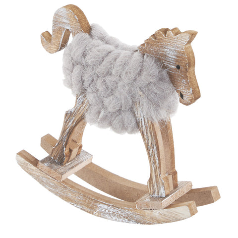 Woolly Rocking Horse