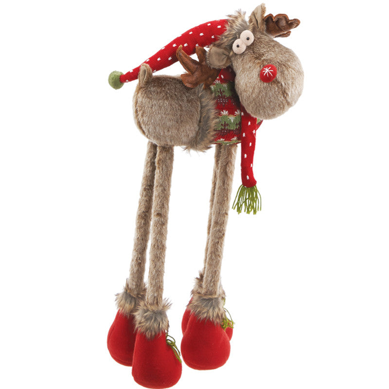 Reindeer With Retractable Legs