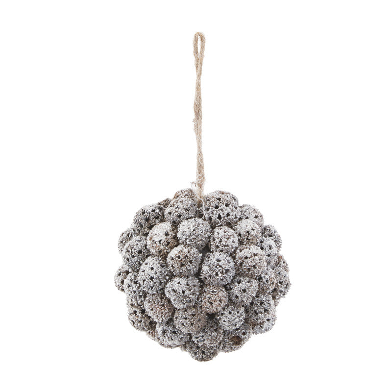 Hanging White Bobble Ball