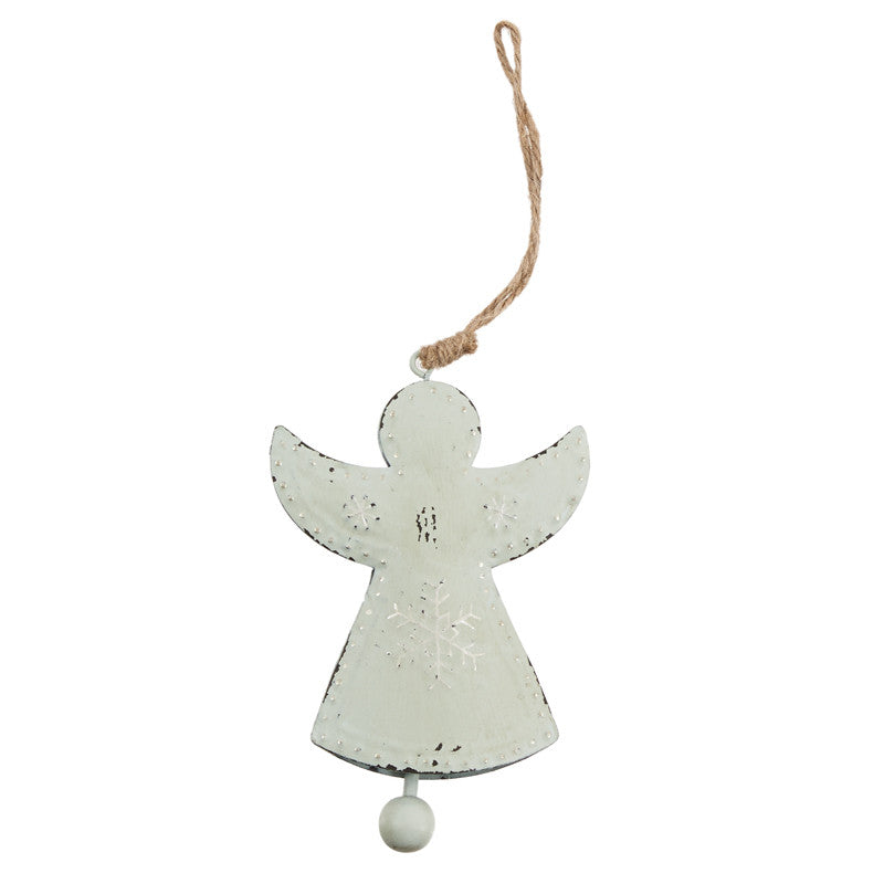 Set of Two Metal Angel Hanger