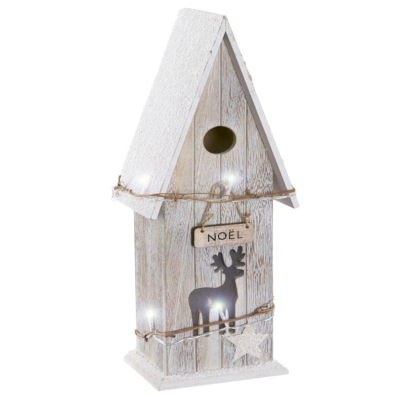 Large LED Noel Bird Box