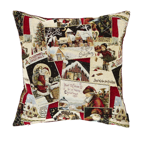 Gift Wrap Christmas Cushion