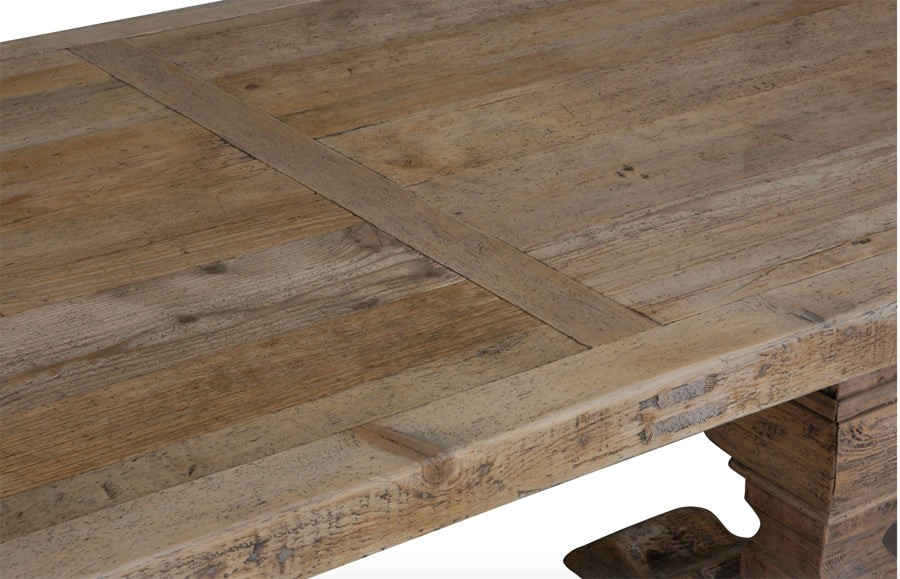 Column Leg Dining Table Natural