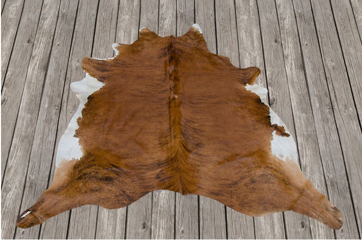 Cowhide Dark Brown Rug