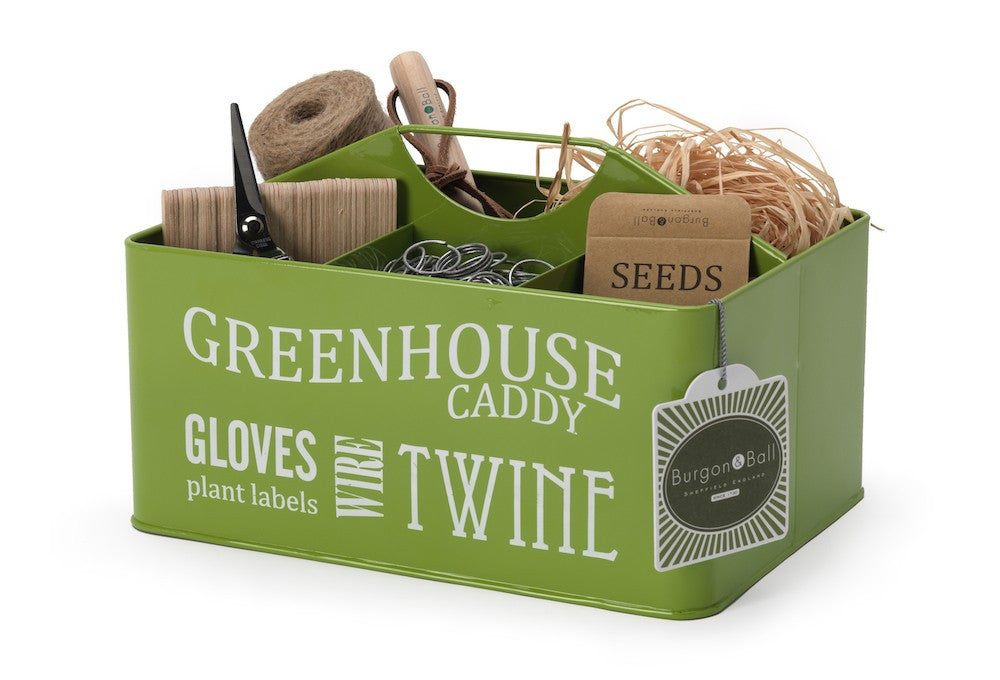 Green Greenhouse Caddy