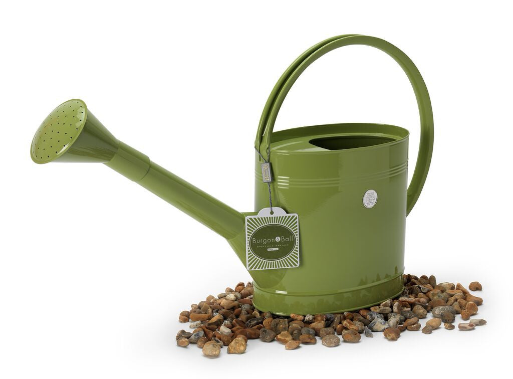 Large Lime Green Watering Can