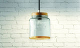 Coffee Hanging Jar Light