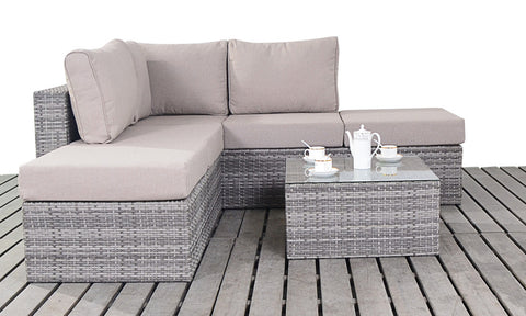 Luxury Garden Corner Sofa