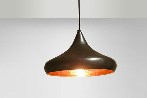 Copper Pendant Calice Light