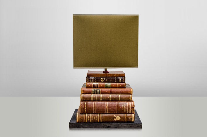 Vintage Book Table Light
