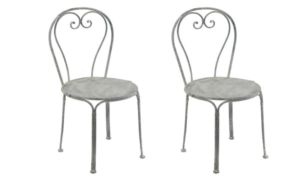 Set of Two Antique Cafe Chairs