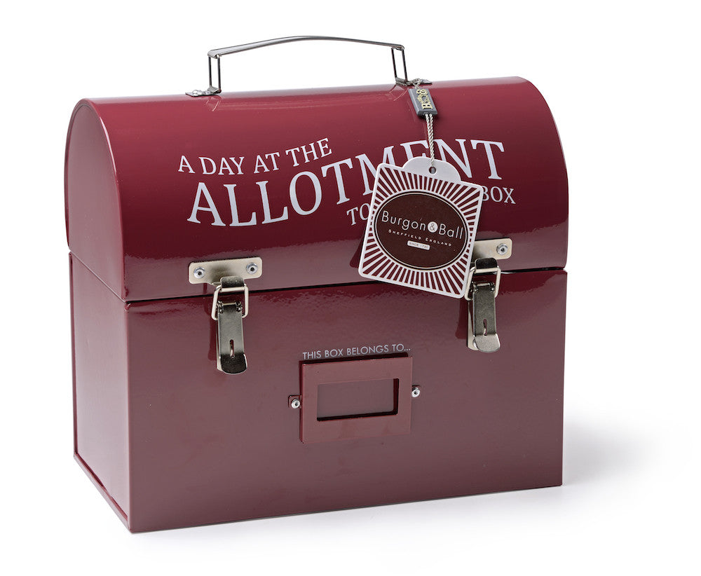 Burgundy Tool & Tuck Box