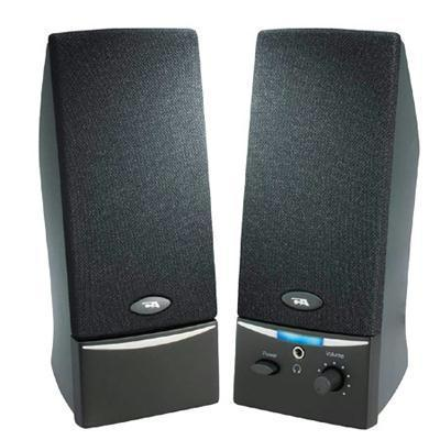2.0 Black Stereo Speaker-Speakers-Cyber Acoustics-ILife Store