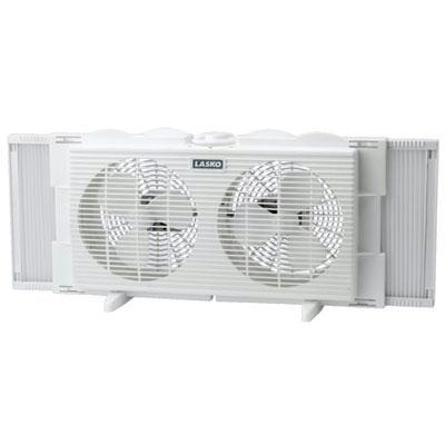 "7"" Twin Window Fan 2 Speed-Home Environment-Lasko Products-ILife Store"