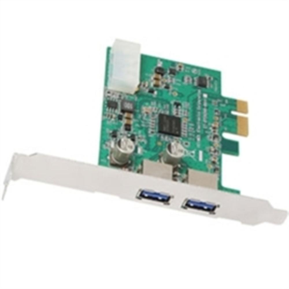 AcomData IO Card ADPU3-PCIX SuperSpeed USB3 2Port PCI Express Card Retail-Computers & Tablets & Networking-AcomData - FF-ILife Store