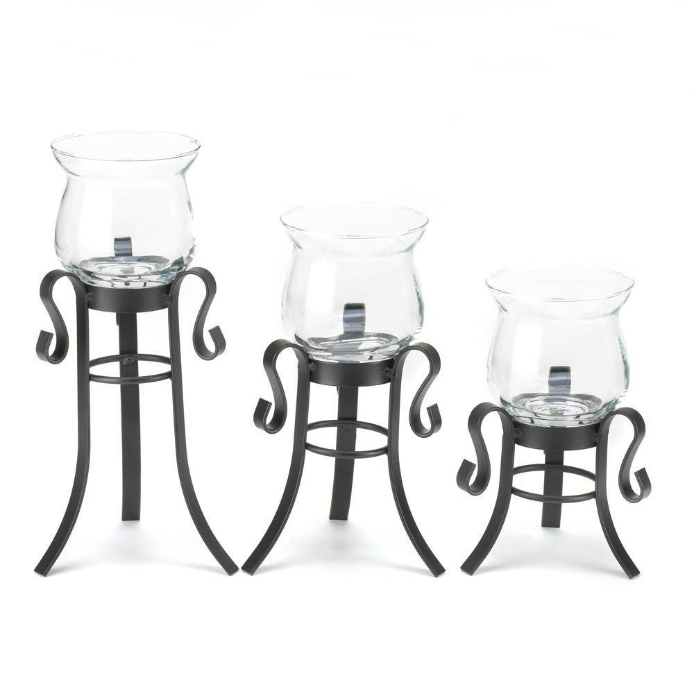 Allure Candle Stand Trio-Home & Garden-Gallery of Light-ILife Store