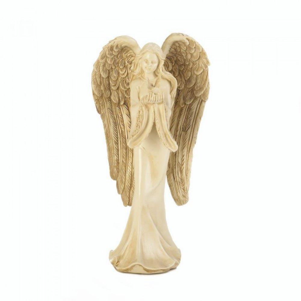 Angel Carrying Dove Figurine-Collectibles-Wings of Devotion-ILife Store