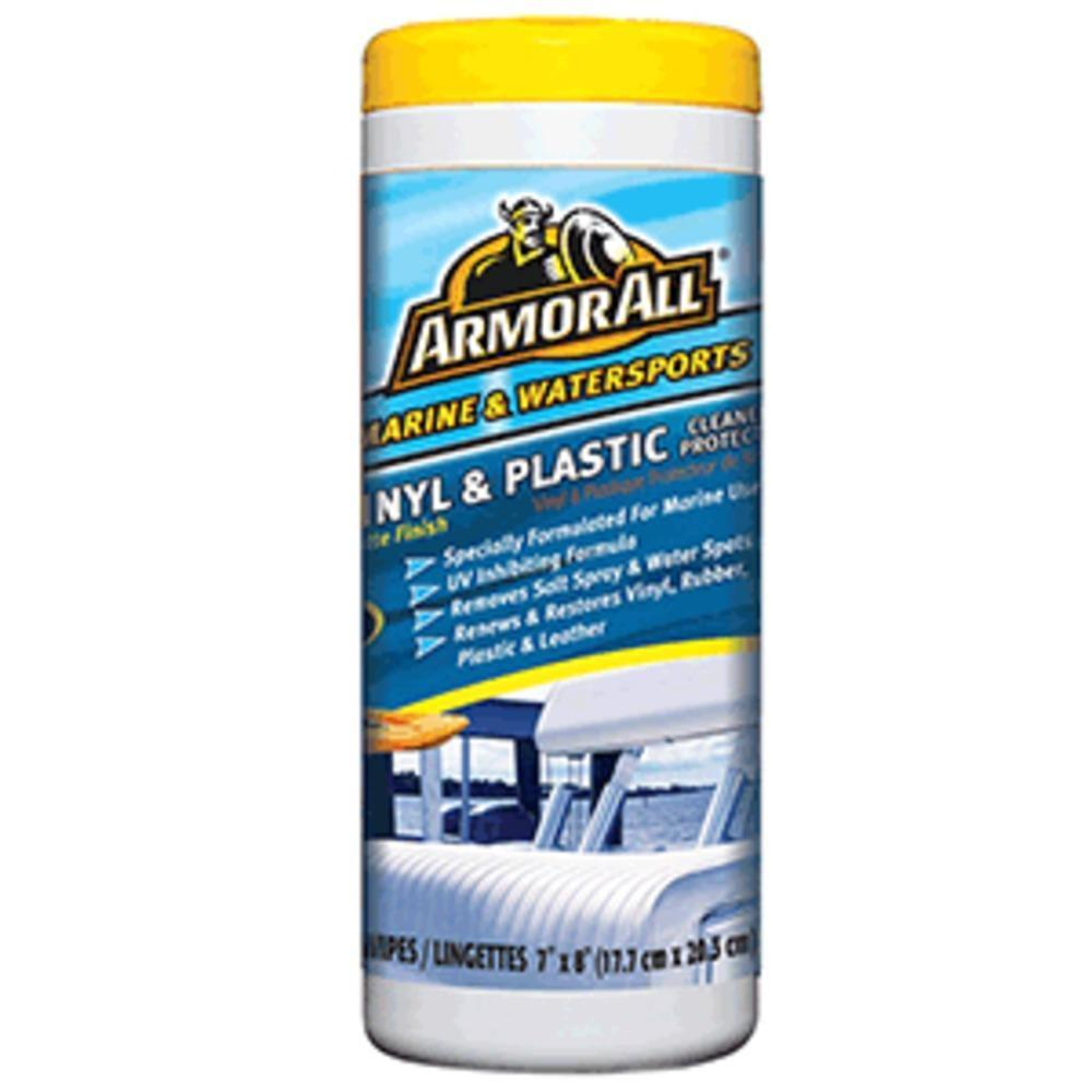Armor All Vinyl & Plastic Cleaner Protector Wipes-Parts & Accessories-Armor All Marine & Watersports-ILife Store