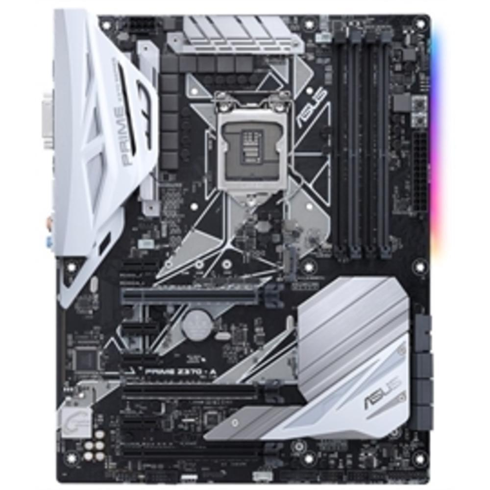 ASUS Motherboard Prime Z370-A LGA1151 DDR4 DisplayPort-HDMI DVI M.2 USB 3.1 Z370 ATX Retail-Computers & Tablets & Networking-ASUS TeK-ILife Store