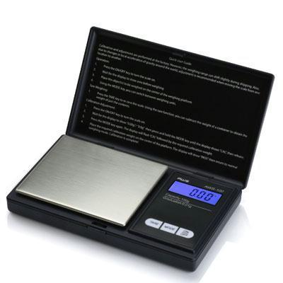 Aws Digital Pocket Scale Black-Kitchen & Housewares-American Weigh Scales-ILife Store