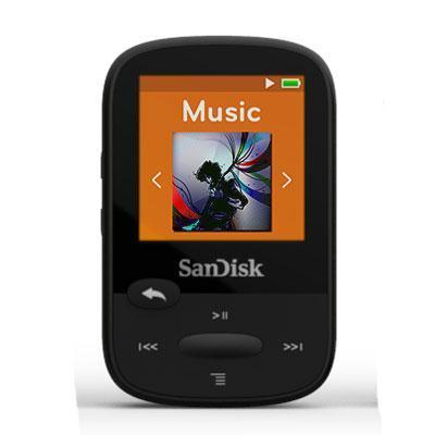 Clip Sport 8GB Mp3 Player Blk-Digital Media Players-SanDisk-ILife Store