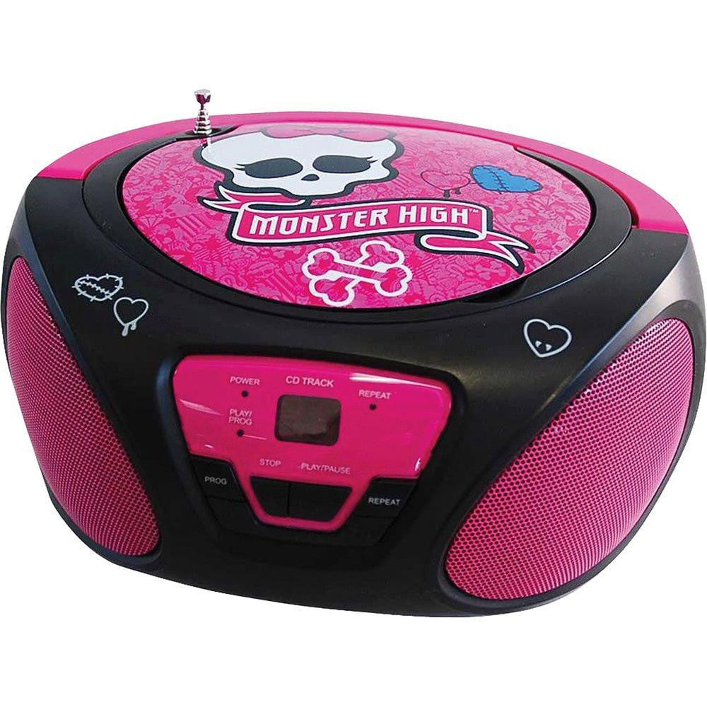 Monster High CD Boom Box-Consumer Electronics-MONSTER HIGH-ILife Store