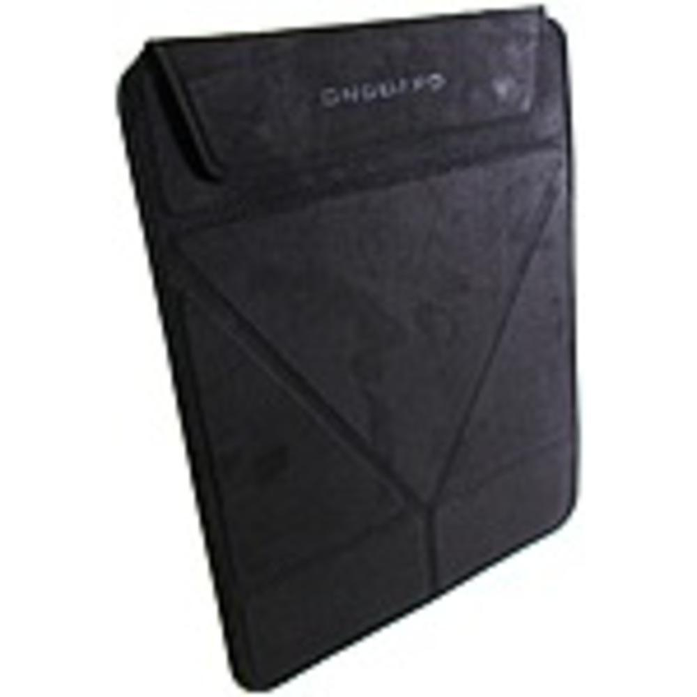 OnGuard ONG-TRISLE10-1 Tablet Sleeve with Stand - 10 Inch Sleeve - Magnetic Clasp - Black Microsuede-Computers Tablets & Networking-OnGuard-ILife Store