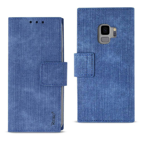 Reiko Samsung Galaxy S9 3-In-1 Wallet Case In Navy