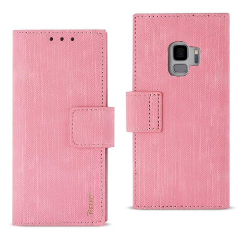 Reiko Samsung Galaxy S9 3-In-1 Wallet Case In Pink