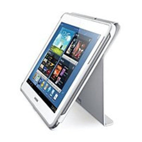 Samsung EFC-1G2NWECXAR Book Cover for Galaxy Note 10.1 inches - 2012 Models Only - White