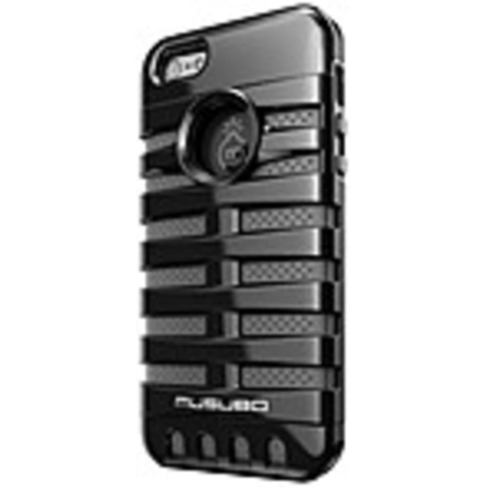 Smart IT Musubo Retro Case for iPhone 5 - iPhone - Black - Silicone, Polycarbonate-Cell Phones & Accessories-MUSUBO-ILife Store