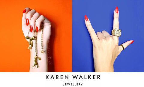 94dc58722b Our store is an exclusive stockist of New Zealand designer Karen Walker  fine jewellery range, which combines whimsy with tradition and craft, ...