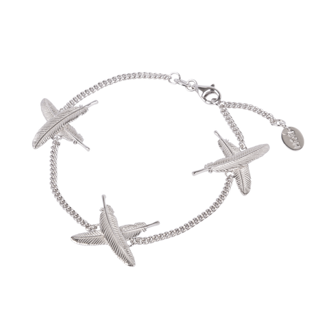 Feather Kisses Bracelet