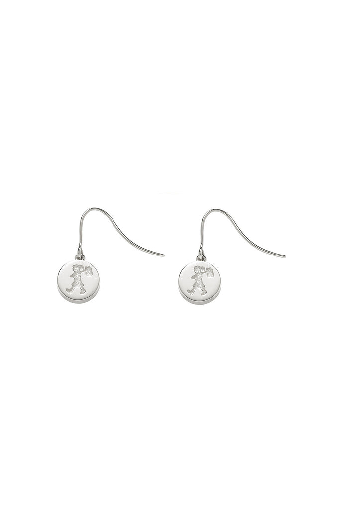 Runaway Stamp Earrings