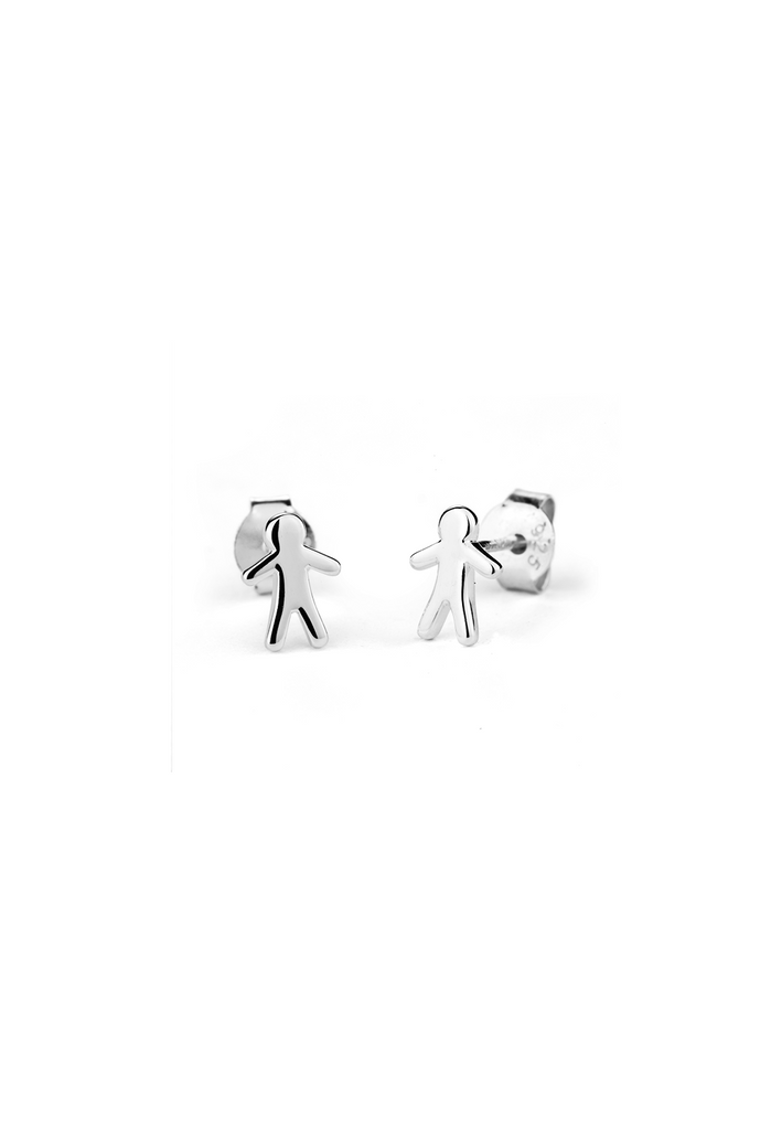 Stowaway Boy Stud Earrings